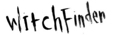 Witchfinder Blog